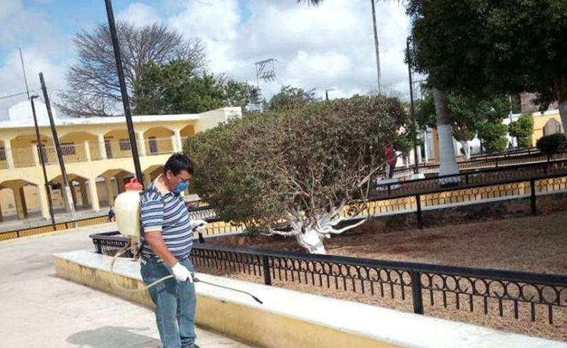 En Acanceh hay cuatro personas con Covid-19. (Foto: Ayuntamiento de Acanceh)