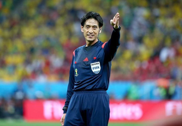 Según el jefe del comité de árbitros de FIFA, Nishimura estaba bien situado al momento de marcar el penal contra Croacia. (EFE)