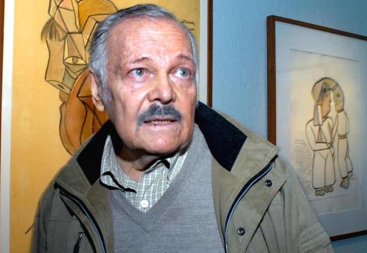 El pintor José Luis Cuevas, permaneció internado más de 3 semanas en un hospital. (lookfordiagnosis.com)