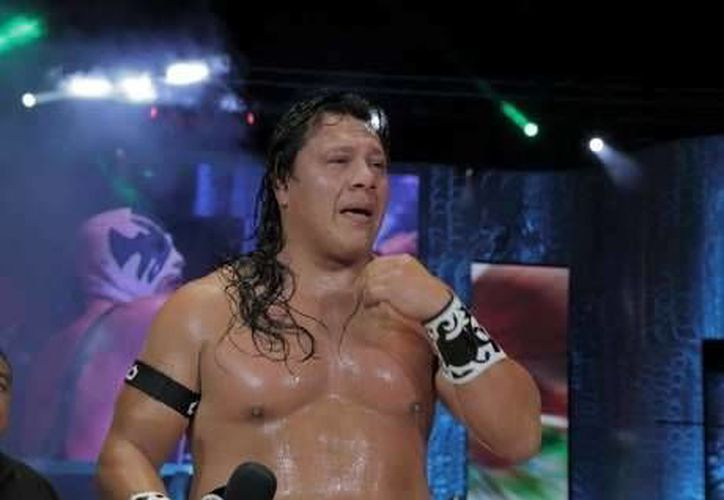 Último Guerrero (foto), quien perdió la máscara hace poco ante Atlantis, se enfrentará este 26 de octubre a Dr. Wagner Jr. en la Inalámbrica. (Milenio Novedades)