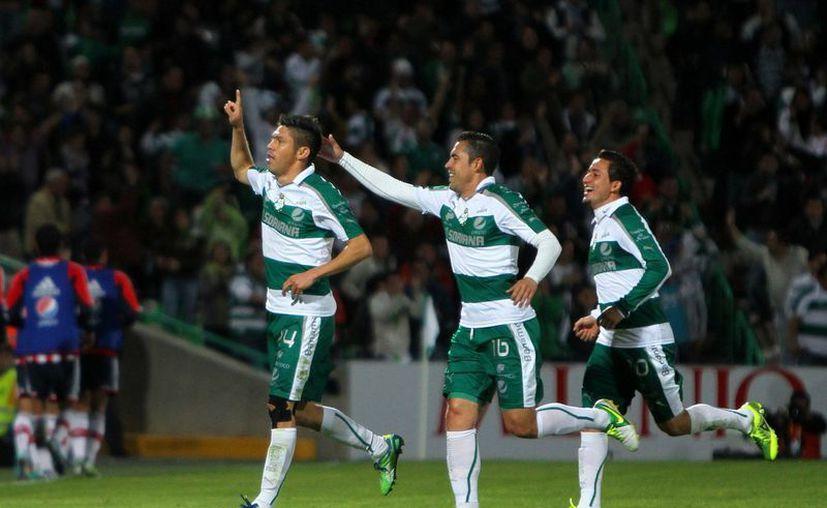 Santos se colocó de momento como sublíder del Clausura 2013. (Foto: Agencias)
