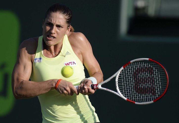 Andrea Petkovic, ubicada en el lugar 40 del mundo, ha ganado tres finales de ocho que ha disputado. (EFE)