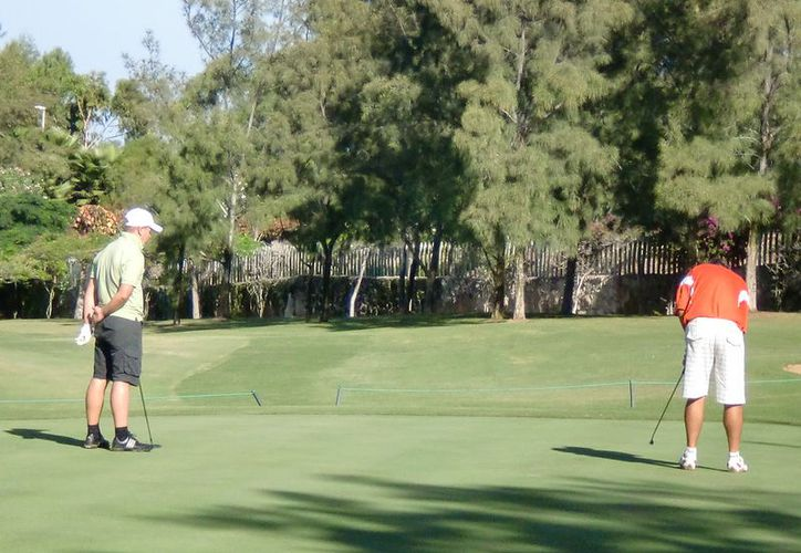 Esperan la participación de los mejores golfistas en este torneo. (Raúl Caballero/SIPSE)