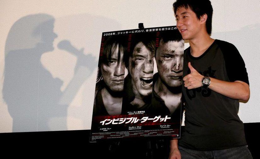 Jackie Chan, quien en 2009 fue nombrado embajador de la policía en la campaña antidroga del gobierno chino, dijo que ahora se siente avergonzado por lo que pasa con su hijo Jaciee (foto). (EFE)