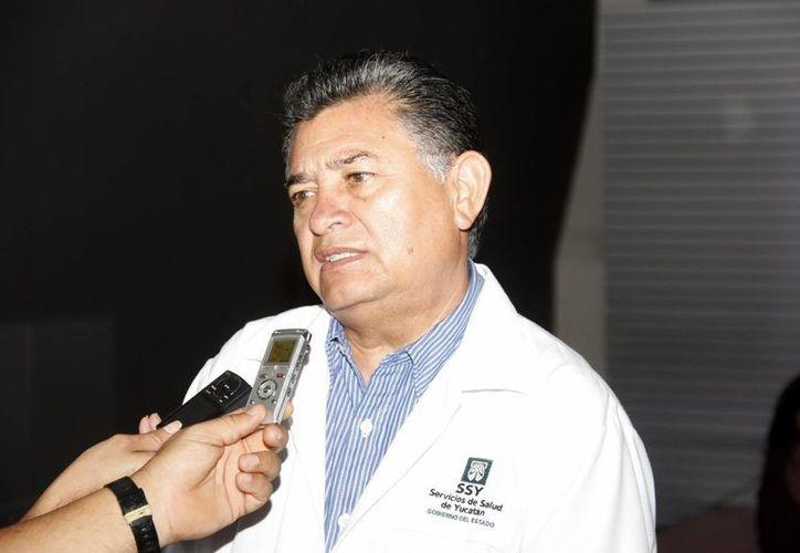 Luis Castro: estamos en la fase final de la instalación del centro estatal de trasplantes. (SIPSE)