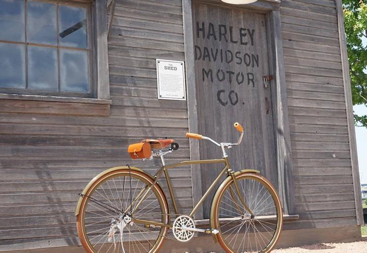 Harley Davidson creó  una bicicleta vintage sin marchas que cuesta 4.200 dólares. (Foto: Twitter)