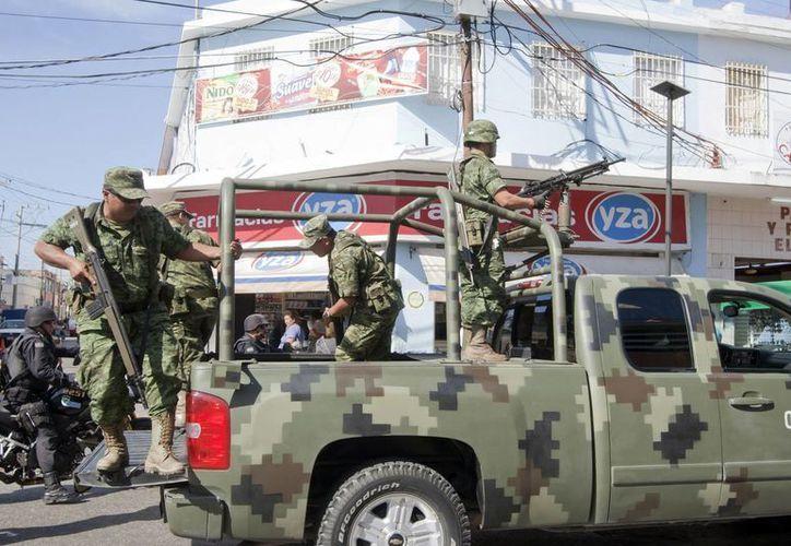 El ejército se ha visto implicado en distintos casos por desaparición forzada. Las autoridades mexicanas informaron a la ONU que existen otros seis casos de agentes federales acusados de privación de la libertad. (Archivo Notimex)