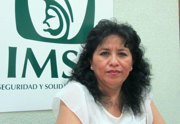 Elizabeth Duarte Peraza, jefa del Departamento de Guarderías. (SIPSE)