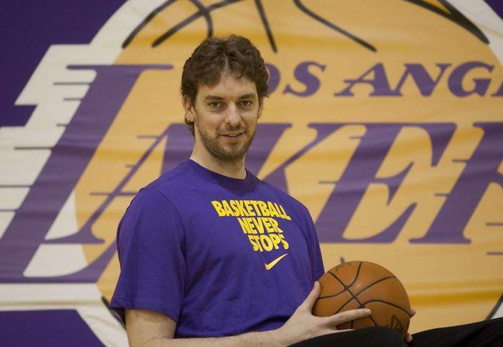 Paul Gasol, jugador de Los Ángeles Lakers. (EFE/Archivo)