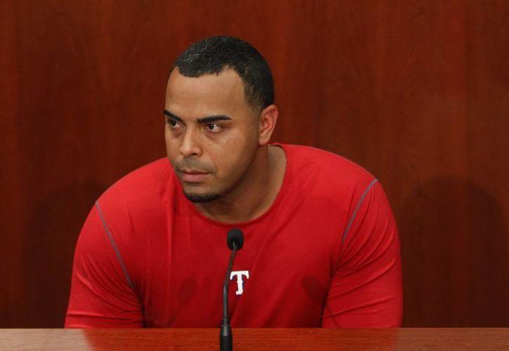 El bateador dominicano se disculpó con la organización y sus aficionados por el caso de dopaje en el que se vio involucrado. (Agencias)