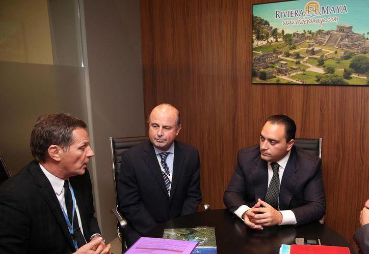 Roberto Borge Angulo, sostuvo diversas reuniones con tour operadores alemanes. (Redacción/SIPSE)
