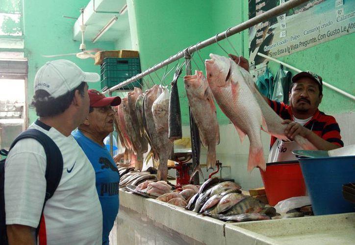 El consumo de pescado, con poca aceptación entre los mexicanos. (Jorge Acosta/Milenio Novedades)