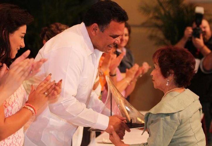 El gobernador del estado Rolando Zapata Bello. (SIPSE)