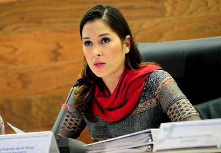 Ximena Puente de la Mora, presidenta del IFAI. (Tomada de Twitter / @XimenaPuente/MILENIO)