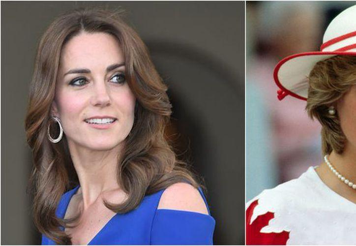 Kate Middleton a un paso de ser princesa. (foto: Elle)