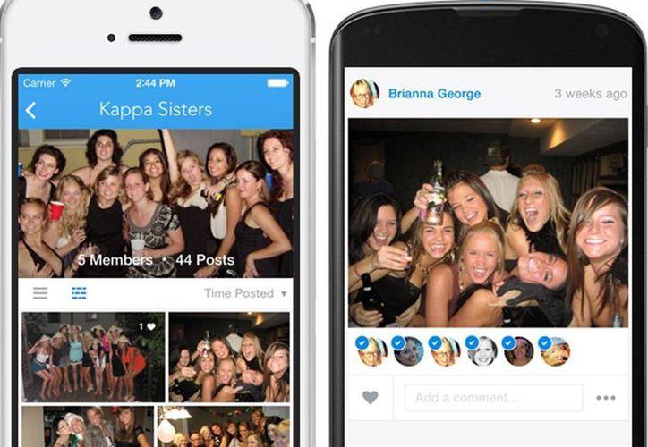 Con la nueva app de Facebook es posible sincronizar las fotos de una manera privada para después compartirlas y organizarlas de manera automática. (Agencias)