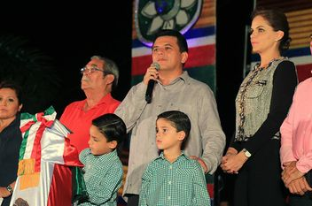 Luces patrias en Cozumel