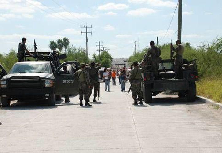 Entre las zonas afectadas por persecuciones de sujetos armados figuran las colonias Juárez, Petrolera y Delicias de Reynosa. (La Jornada)