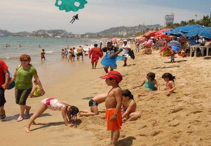 La bacteria Enterococcus faecalis tiene una importante presencia en algunas playas mexicanas. (Notimex)