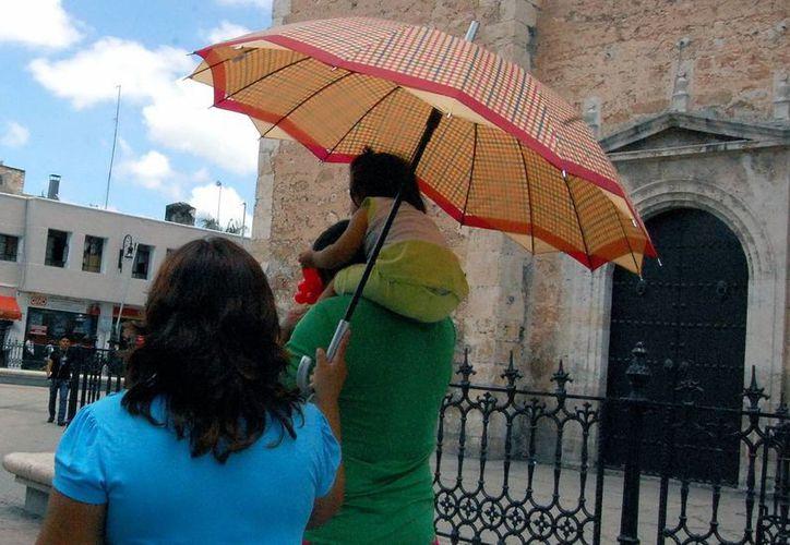 Temperatura máxima de 33 grados para este día en Mérida. (SIPSE)