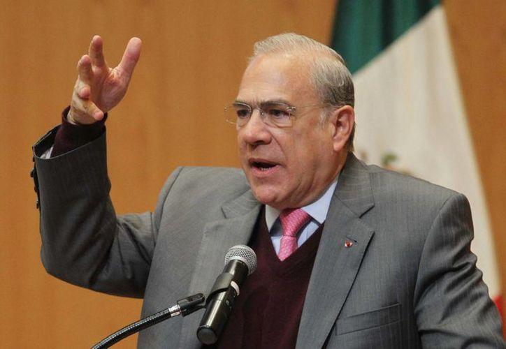 José Angel Gurría, titular de la OCDE, indicó que en México había un déficit de reformas. (Notimex)