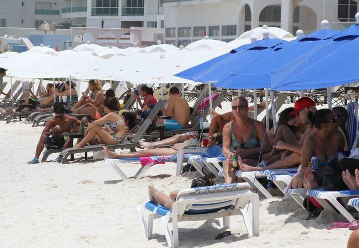 El turismo norteamericano sigue siendo el principal mercado. (Sergio Orozco/SIPSE)