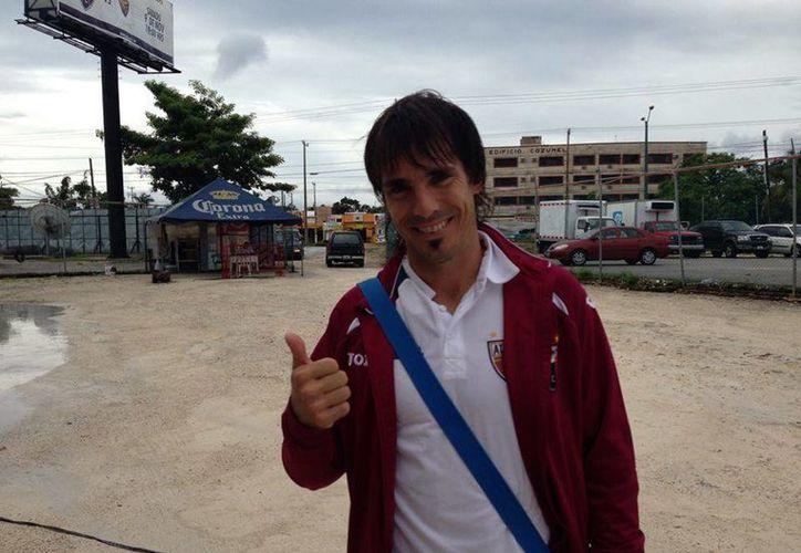 El jugador ha sido parte del esquema titular del cuadro azulgrana. (Ángel Mazariego/SIPSE)