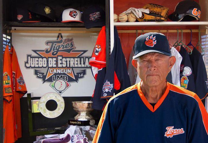 José Luis sirvió por 45 años a los Tigres, como uno de los bat boys más famosos de México. (Foto: @Béisbol Campechano)