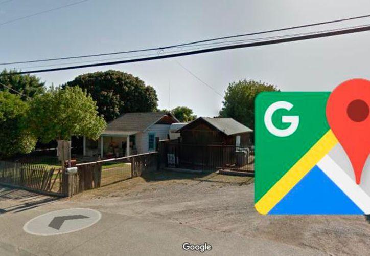 Mientras revisaba su casa con Google Maps, un hombre descubrió la infidelidad de su esposa y las imágenes han dado la vuelta al mundo. (Foto: Google maps)