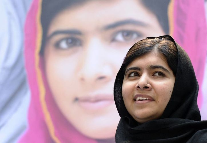 Malala Yousafzai, en una foto del 11 de octubre de 2013. La joven paquistaní de 16 años sobrevivió a un intento de asesinato del Talibán en 2012. (Agencias)