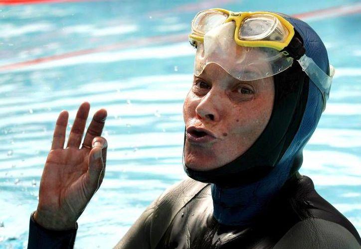 La campeona mundial de apnea desapareció en aguas española el pasado domingo, por lo que continúan buscando a la plurimarquista de origen ruso. (sitio oficial Confederación Mundial de Actividades Subacuáticas)