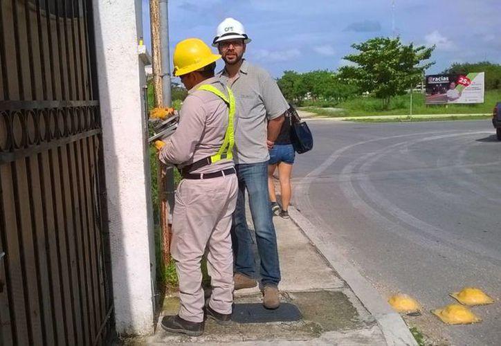 El recibo que tenía que pagar en el mes diciembre le llego de casi de cinco mil pesos. (Daniel Pacheco/SIPSE)