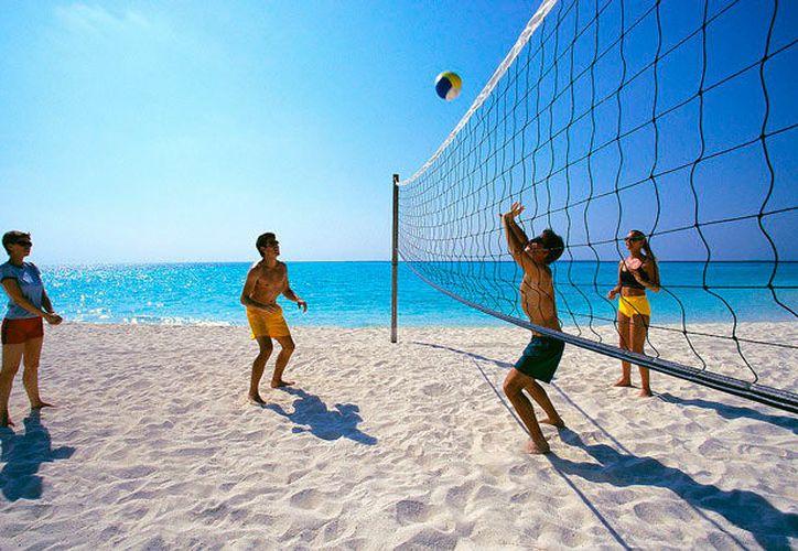 La próxima semana iniciará el Torneo Regional de Vóleibol Playero, con diversos municipios del estado. (SIPSE)