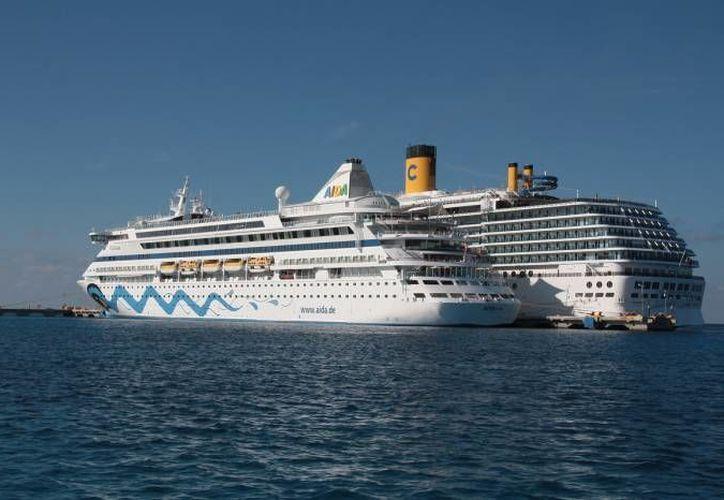 La industria de los cruceros produce 23 mil millones de dólares anuales. (Redacción/SIPSE)