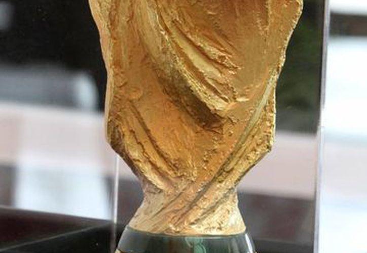Será la presea para el campeón del Mundial de Brasil 2014. (Notimex)
