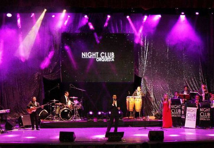 La Night Club Orquesta se presenta esta noche en el parque de Santa Ana, de Mérida, con éxitos de las grandes orquestas de los años 40, 50 y 60. (Sedeculta)