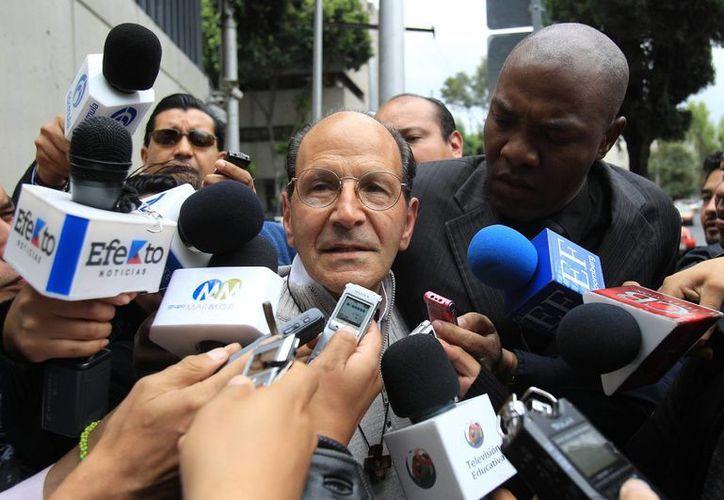 El padre Solalinde dijo asumir la responsabilidad de las declaraciones de testigos de la desaparición de los 43 normalistas. (EFE)