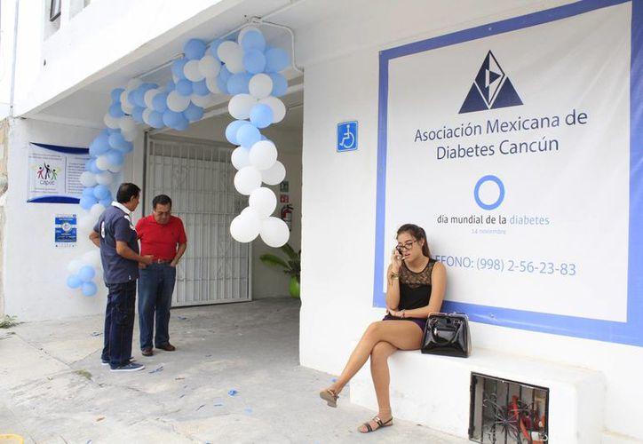 Las actividades son organizadas por  la Asociación Mexicana de Diabetes Cancún. (Sergio Orozco/SIPSE)