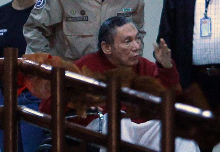 Noriega, de 82 años, debe ser sometido a una cirugía para eliminarle un tumor benigno en la cabeza. (Archivo/www.latercera.com)