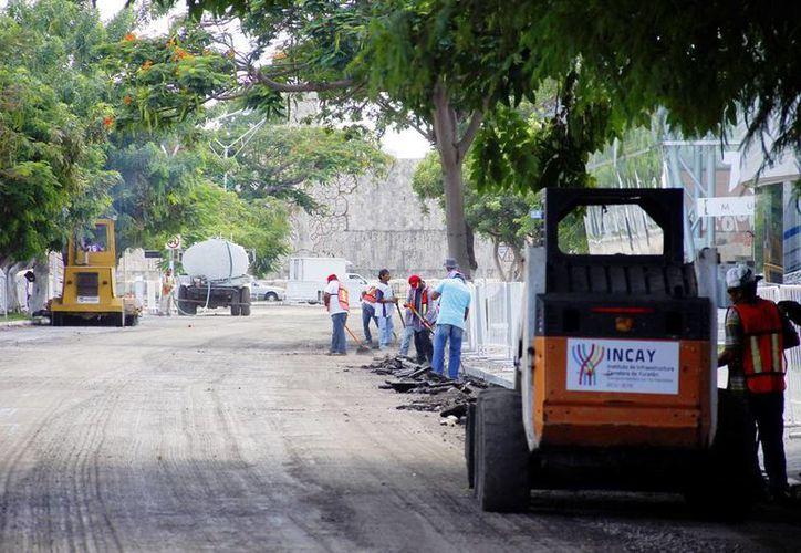 Las obras en Prolongación Montejo darán mejor aspecto a la zona. (Milenio Novedades)