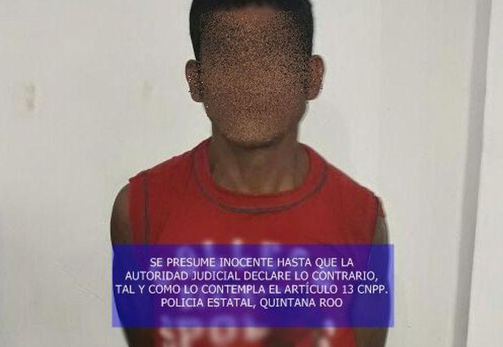 El detenido fue puesto a disposición de la Unidad Especializada en Investigación de Delitos Contra la Salud. (Foto: Redacción)