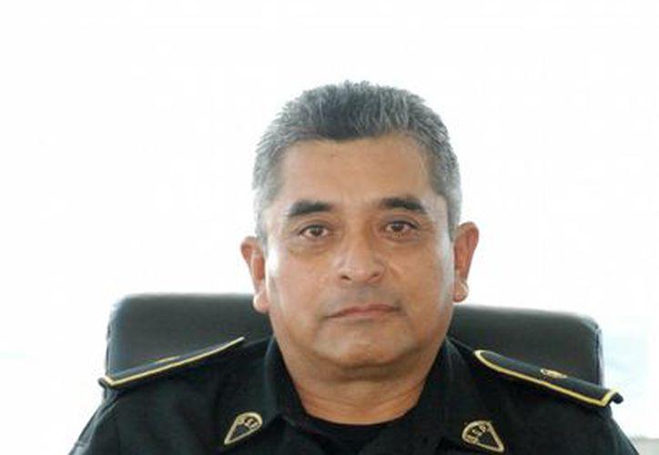Rogelio Azcorra Medina, actual director del Centro Integral de Seguridad Pública en Izamal. (Milenio Novedades)