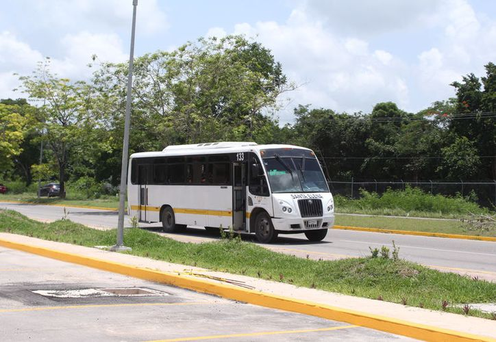 Se prevé iniciar con la cobertura de por lo menos cuatro rutas de transporte en Chetumal, de las cuales, dos ya están seguras, la de Calderitas y las Américas. (Joel Zamora/SIPSE)
