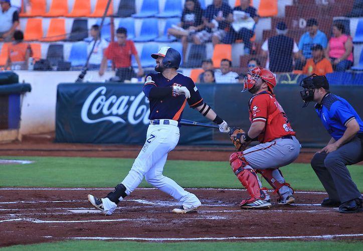 Finalizó la serie entre Piratas y Tigres en el Beto Ávila de Cancún. (Raúl Caballero/SIPSE)