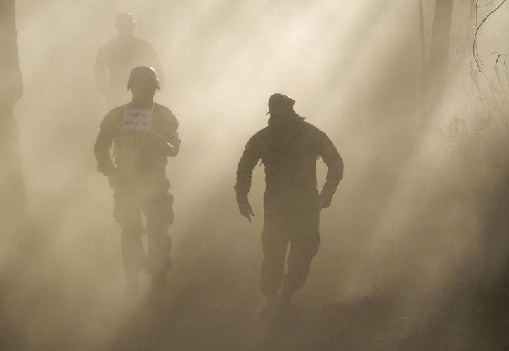 De acuerdo con cifras oficiales, 2011 fue el peor año para el Ejército por el número de ataques que recibió. La imagen cumple funciones estrictamente referenciales. (Archivo/Notimex)