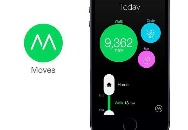 Moves es una aplicación que sigue la actividad diaria de los usuarios. (Milenio Novedades)