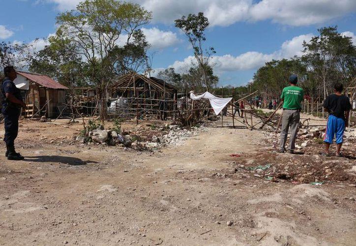 El Ayuntamiento de Solidaridad advierte que en caso de nuevas invasiones se ejercerán las acciones legales correspondientes. (Adrián Barreto/SIPSE)