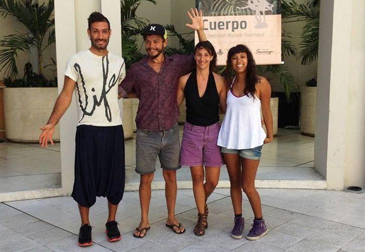 """El  grupo de artistas uruguayos """"Colectivo clo"""" trae por primera vez """"Magma"""" a Mérida. (Milenio Novedades)"""