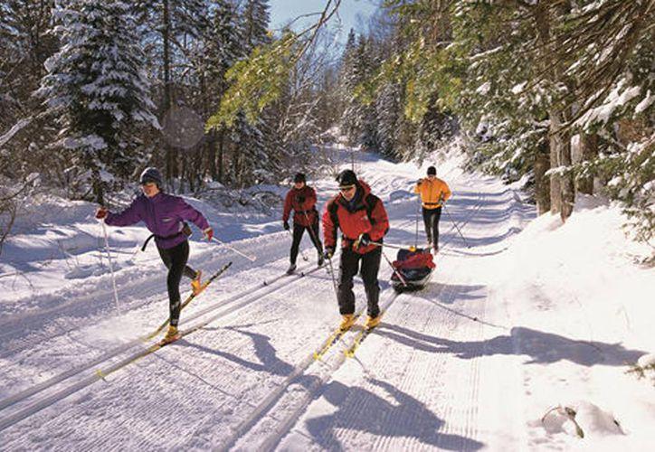 Para muchas personas las vacaciones de invierno son lo más esperado para esquiar en el extranjero. (Milenio)