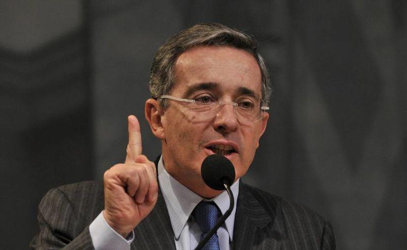 Con ello se ratifica el fallo en favor del expresidente Uribe. (EFE)